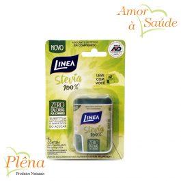 Adoçante Stevia 100% – Comprimido 100 unidades de 6g cada – Linea – Sem Glúten – Sem Açúcar