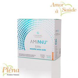 Aminnu – 30 Sachês com 10g  – Central Nutrition – Sem Glúten – Sem Açúcar