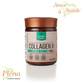 Collagen II – 60 Cápsulas – Nutrify