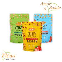 Crispy de Grão de Bico – 30g – Flormel – Sem Glúten – Vegano