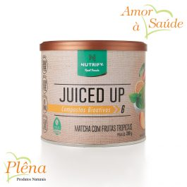 Juiced Up Matcha com Frutas Tropicais 200g – Nutrify – Sem Açúcar Sem Glúten