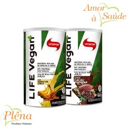 Life Vegan – 450g – Vitafor – Sem Glúten – Sem Açúcar