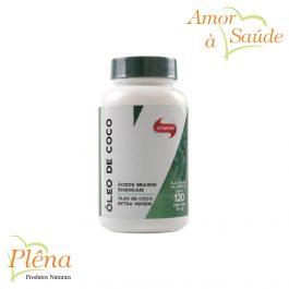 Óleo de Coco em Cápsulas – 120 Cápsulas – Vitafor