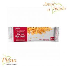 Barra de Cereais Crocante de Amendoim e Pé de Moleque Levitta 12g – Banana Brasil – Sem Glúten Sem Açúcar