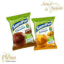 Muffin Orgânico – 40g – SuaviPan – Sem Gordura Trans
