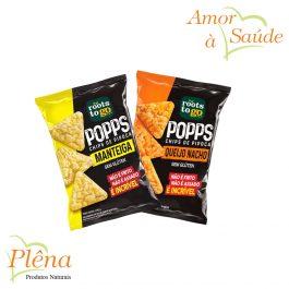 Popps Chips de Pipoca – 35g – Roots To Go – Sem Glúten