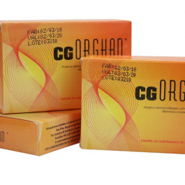 Organoterápico CG – Colágeno – 30 Cápsulas