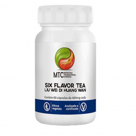 Six Flavor Tea – Liu Wei Di Huang Wan Vitafor 60 Capsulas