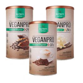 Proteína em Pó Veganpro 550g – Nutrify – Sem Glúten Sem Lactose