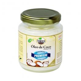 Óleo de Coco Extravirgem Premium 200ml – Finococo – Sem Glúten