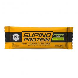 Supino Protein Baunilha com Crispies 46g – Banana Brasil – Sem Glúten