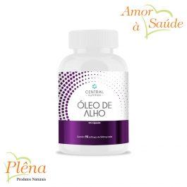 Óleo de Alho – 90 Cápsulas – Central Nutrition