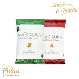 Pipoca Artesanal 50g – Maïs Pura – Sem Glúten – Vegano – Sem Lactose
