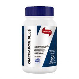 Omega For Plus 60 Cápsulas – Vitafor