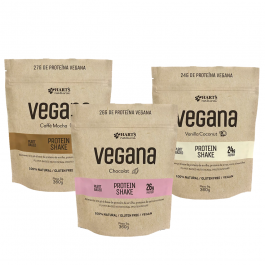 Shake de Proteína Vegana 360g – Hart's Natural – Sem Glúten