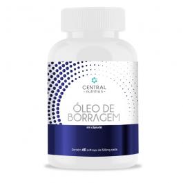 Óleo de Borragem 60 Cápsulas – Central Nutrition