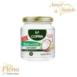 Óleo de Coco – 200ml – Copra – Sem Glúten