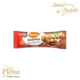 Barra Castanhas de Baru + Pará + Caju – 27g – Flormel – Sem Açúcar – Sem Glúten