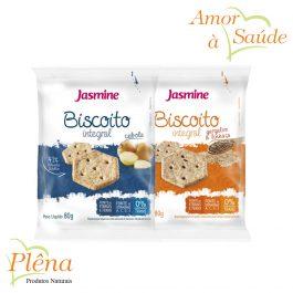 Biscoito Integral – 80g – Jasmine – Sem Gordura Trans