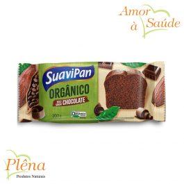 Bolo Orgânico de Chocolate – 200g – Suavipan – Sem Conservantes
