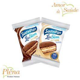 Alfajor LevSlim – 25g – Suavipan – Sem Açúcar