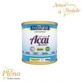 Açaí Pure RWD – 100g – Nature Real Nutrition – Sem Glúten
