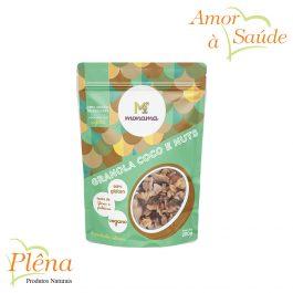 Granola com Coco e Nuts – 200g – Monama – Vegano – Sem Glúten
