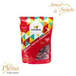 Granola com Frutas Vermelhas – 200g – Monama – Vegano – Sem Glúten