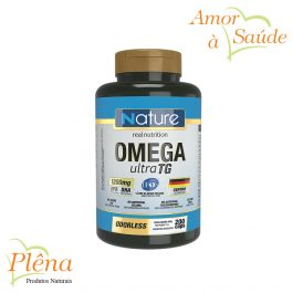 Omega Ultra TG – 200 Caps – Nature Real Nutrition – Sem Glúten