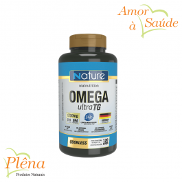 Omega Ultra TG – 120 Caps – Nature Real Nutrition – Sem Glúten
