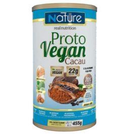 Proto Vegan Cacau – 455g – Nature Real Nutrition – Sem gluten sem lactose